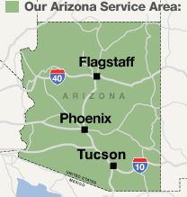 Our Arizona Service Area