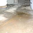a huge crack in a concrete slab floor in Glendale